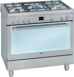 Defy 90CM Gas Electric Range Cooker - Stainless Steel - Use Coupon Code Festivedeal And Save R500 At Checkout