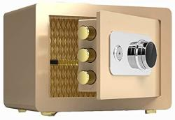 USA Zcf Security Safes Security Safes Digital Safe Box Keypad Lock Home Office Hotel Business Travel Jewelry Passports Cash Use Storage - 2 Colors Color