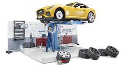 Bruder Toys Bworld Car Service