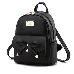 Cute MINI Leather Backpack Fashion Small Daypacks Purse For Girls And Women