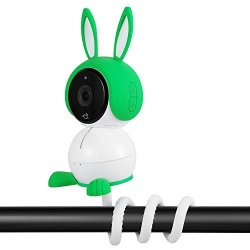 Wasserstein Twist Mount Compatible With Arlo Baby Camera Flexible Gooseneck-like Mount For Arlo Baby Camera - Attach Your Arlo Baby Camera Wherever You Like Without