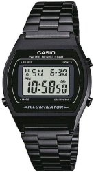Retro Casio 50 Wr Digital Watch - Black