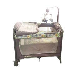 Mamakids Camp Cot - Cozy Sweet Elephant