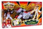 "Bandai Power Ranger Jungle Fury Power Ranger Cycles With 5"" Figure - Rhino Battle Bike"