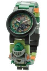 LEGO NexoKnights Clictime Lego Nexo Nights - Aaron Minifigure Link Watch