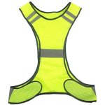 Speedone 2 Pack Lightweight Safety Running Vest For Jogging Biking Dog Walking And Workwear Reflective Running Vest For Men And