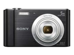 Sony Cyber-shot DSC-W800 Digital Camera Black