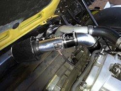 Performance Air Intake Kit System For 07 08 09 Pontiac Solstice Gxp 2.0L L4 Turbocharged Engine 2007 2008 2009 Saturn Sky Red Line 2.0L L4 Turbocharged Engine Black