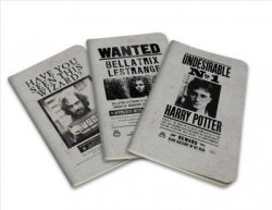 Harry Potter: Wanted Posters Pocket Journal Collection Notebook Blank Book