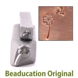 Beaducation Metal Stamp Dandelion & Fluff