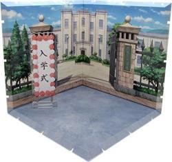 Plm Dioramansion 150: School Front Gate Figure Diorama Multicolor