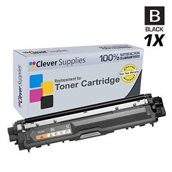 Clever Supplies © Compatible Replacement Toner Cartridges Black For Brother TN-221 TN-221BK DCP-9020CDN 9020CDW HL-3140CDW 3150CDW MFC-9130CW 9330CDW 9340CDW 9140CDN 9330CW Black