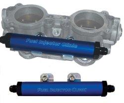 AJP Distributors Blue Silicone Induction Inlet Hose Pipe For Subaru Impreza WRX STI EJ20 EJ25 Engines 2002 2003 2004 2005 2006 2007