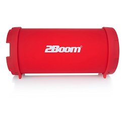 MiGear 2BOOM MINI Bass King Wireless Bluetooth Portable Outdoor Speaker  With Fm Radio LED Display - Red | R | Handheld Electronics | PriceCheck SA