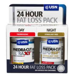 USN Phedra Cut 24 Hour Fat Loss Pack