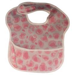 4AKID Waterproof Baby Bib With Crumb Catcher - Pink Camo