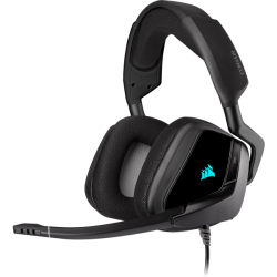 Corsair Void Elite USB Premium Gaming Headset With Dolby Headphone 7.1 Carbon Console Ready USB