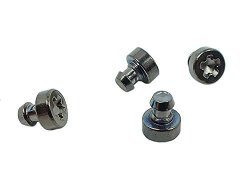 Casio 10396608 Genuine Factory Replacement Ss Silver-tone Bezel Screws Qty 4 1H 5H 7H 11H Fits GW-7900CD-9