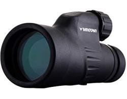 Wingspan Optics Explorer High Powered 12X50 Monocular. Bright And Clear. Single Hand Focus. Waterproof. Fog Proof. For Bird Watching Or Watching Wildlife. Daytime Use.