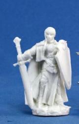 Reaper Miniatures Bones: Isabeau Laroche Female Paladin Miniatures