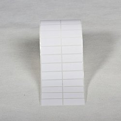 Blank White Thermal Transfer Label Roll Self Adhesive Address Shipping File Multi Purpose Label Rolls 40X20MM-5000 Labels