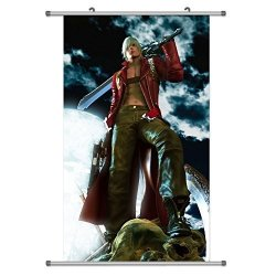 KINGS ZW A Wide Variety Of Devil May Cry Game Characters Wall Scroll Hanging Decor Dante 4