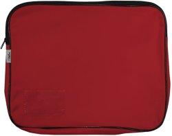 Treeline: Canvas Book Bag - Red