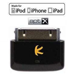 KOKKIA I10S + Aptx Luxurious Black Tiny Bluetooth Ipod Transmitter For Ipod iphone ipad With Apple Authentication Delivers Clean