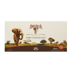Amarula Marula Fruit And Cream 10 Dark Chocolates