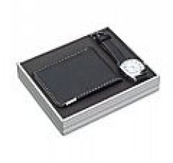 WATCH & Wallet Set In Aluminium Gift Box.