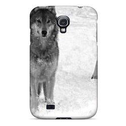Jeffresc EJZBKXY181ADZPO Wolves Winter Durable Galaxy S4 Tpu Flexible Soft Case
