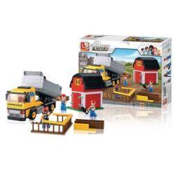 Sluban Town Series - Dump Truck