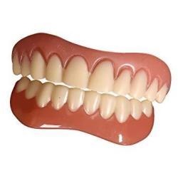 Junword Perfect Instant Smile Teeth Veneers Instant Beauty 2 Pcs Dentures  Upper 2 Pcs Lower Teeth Free Size Medium | R1003 00 | Accessories |