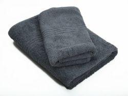 Dreyer Snag Free 600GSM Grey Bath Sheet & Hand Towel Set - Pack Of 2