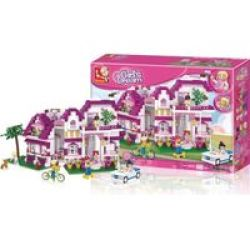 New Girl& 39 S Dream Seaside Villa 726 Pieces
