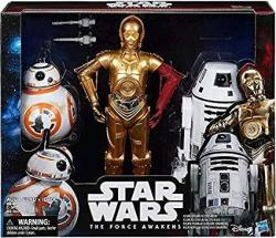 USAB Star Wars The Force Awakens Droid Pack C-3PO BB-8 And RO-4LO Special Collectors Edition