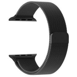 Milanese Loop For Apple Watch 42MM - Black
