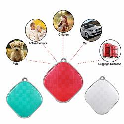 Changsha Hangang Technology Ltd Hangang MINI Gps Tracker Personal Locator Device A9 Detector Tracker Gps+lbs Positioning Sos Alarm 5 Days Standby For Kids Red