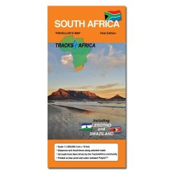 TRACKS4AFRICA - South Africa Paper Map Edition 2