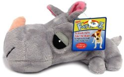 Boss Pet Products MINI Fathedz Plush MINI Rhino Dog Toy