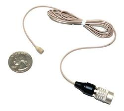 SP-CB-06B - Master Series By Sound Professionals - Subminiature Omnidirectional Condenser Lavalier Microphone For Audio Technica Unipack Wireless Syst