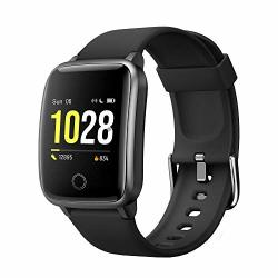 Screen Curved Smart Watch For Android Ios Phones Waterproof Fitness Tracker Health Exercise Smartwatch Pedometer Heart Rate Sleep Monitor Compatible With Apple Iphone Android