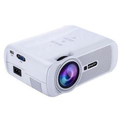 Uhappy U80 Portable Home Theater 1080P LED HD MINI Digital Projector - White - White