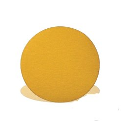 Tork Craft Gold Velcro Disc 50 Pieces 500 Grit 150mm Without Hole