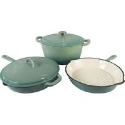 Finery - Marco Cast Iron 5 Piece Set - Mint