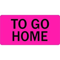 To Go Home Veterinary Labels LV-VET-176