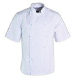 Stanley Unisex Chef Top S S - Avail In: Black White