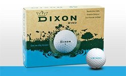 Dixon Wind Eco-friendly Max Distance Golf Balls 1 Dozen
