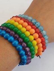 Charlene Palmer Rainbow Beaded Bracelets - Rainbow 7