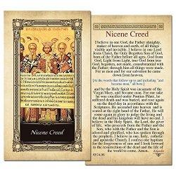 ShopCatholic Nicene Creed Laminated Holy Card - Pack Of 25